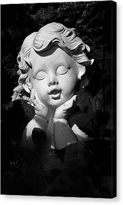 Small Angel In The Sun Canvas Print