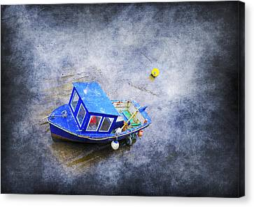 Small Fisherman Boat Canvas Print by Svetlana Sewell