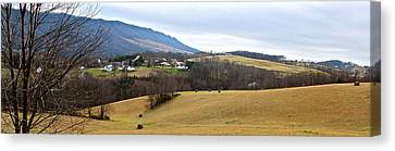 Small Town Canvas Print by Kume Bryant