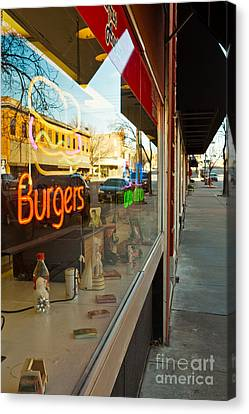 Canvas Print featuring the photograph Small Town Life by Lawrence Burry
