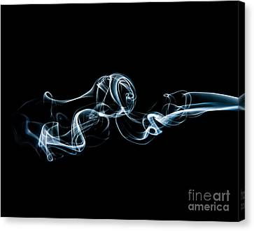 Smoke-3 Canvas Print by Larry Carr