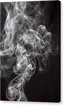 Smoke Swirls  Canvas Print by Garry Gay