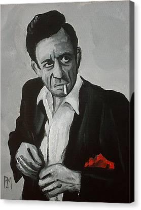 Smokin Johnny Canvas Print by Pete Maier