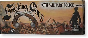 Smoking Guns Canvas Print by Unknown
