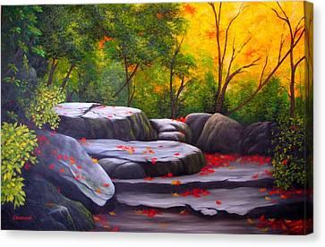 Smoky Mountain Solitude Canvas Print