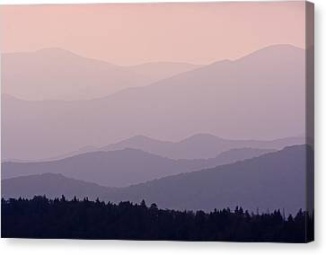 Smoky Mountain Sunset Canvas Print
