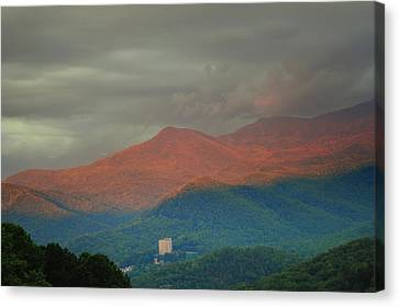 Smoky Mountain Way Canvas Print by Frozen in Time Fine Art Photography