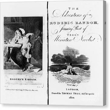 Smollett: Roderick Random Canvas Print by Granger