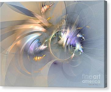 Smooth Ambience - Fractal Art Canvas Print