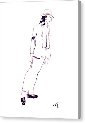 Smooth Criminal Canvas Print by Lee McCormick