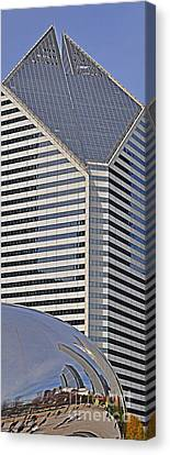 Smurfit And The Bean Canvas Print by Mary Machare