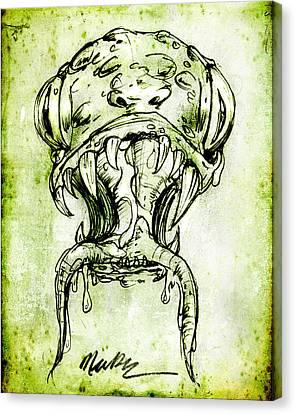 Snake Monster  Canvas Print