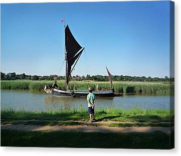 Snape Maltings Canvas Print by Charles Stuart