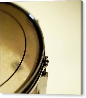 Snare Drum, Close-up And Cropped Canvas Print by Stockbyte