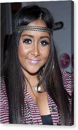 Snooki Nicole Polizzi At A Public Canvas Print by Everett