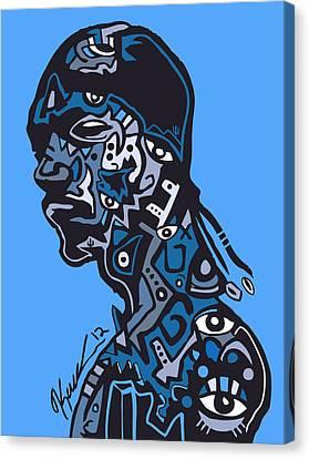 Snoop Dogg Canvas Print by Kamoni Khem