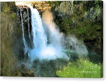 Snoqualmie Falls 2 Canvas Print by John Krakora