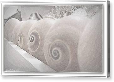 Snow Babies Canvas Print by Danielle  Parent