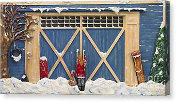 Snowed In Canvas Print by Anne Klar