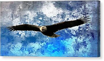 Soaring Canvas Print by Carrie OBrien Sibley