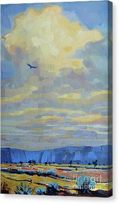 Soaring Canvas Print by Donald Maier