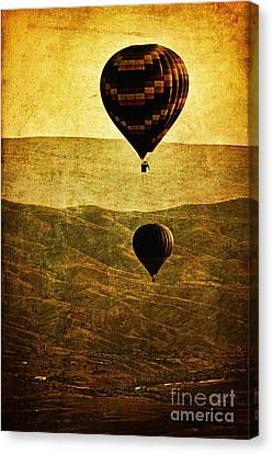 Soaring Heights Canvas Print by Andrew Paranavitana