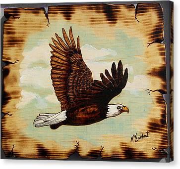 Soaring Canvas Print by Kenneth Lambert