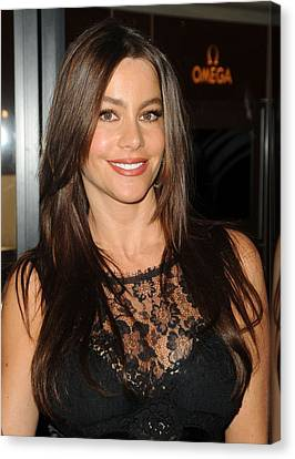 Sofia Vergara At A Public Appearance Canvas Print by Everett