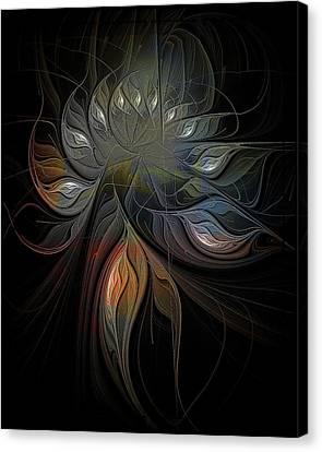 Soft Metals Canvas Print by Amanda Moore