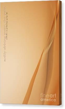 Softly Ebbing Canvas Print by Vicki Ferrari Photography