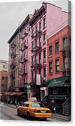 Soho's Pink House Canvas Print