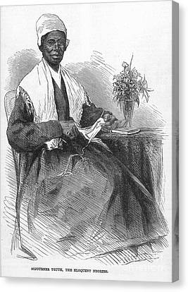 Sojourner Truth (d.1883) Canvas Print by Granger