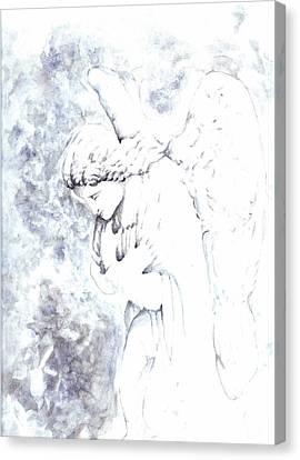 Solace Angel Canvas Print by Lisa Buchanan