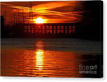 Solar Power Canvas Print by Sue Stefanowicz