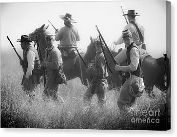Soldiers Canvas Print by Kim Henderson