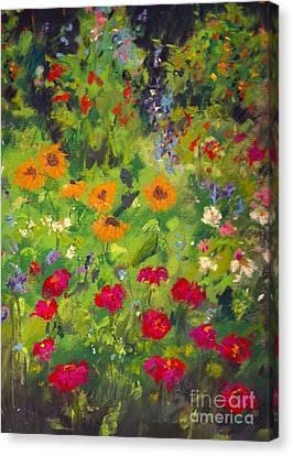 Solebury Garden Canvas Print
