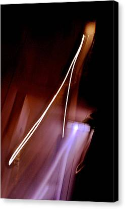 Inner Reality Canvas Print - Solitary Thrust by Henry Rowland