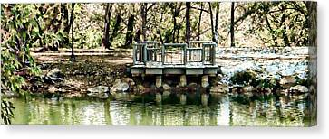 Fountain Creek Nature Center Canvas Print - Solitude by Michelle Frizzell-Thompson