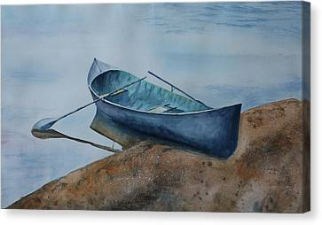 Solitude Canvas Print by Patsy Sharpe