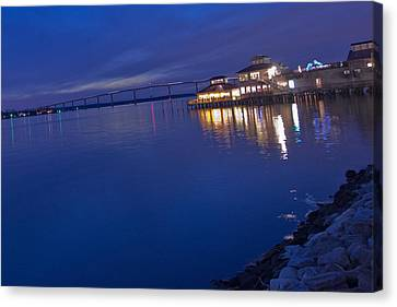 Solomons Island Canvas Print by Kelly Reber