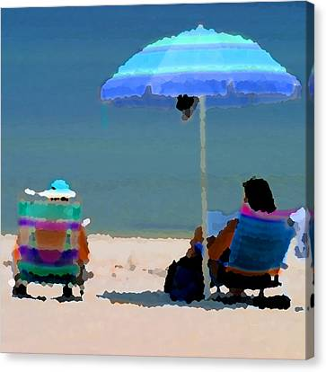 Some Like It Hot Canvas Print by Joseph G Holland