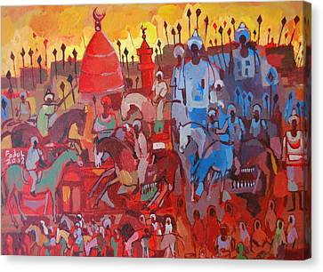 Some Of The History1 Canvas Print by Mohamed Fadul