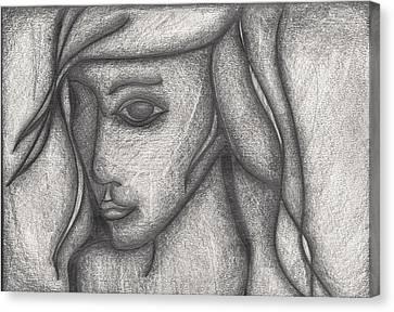 Someone I Knew Canvas Print by Daniel Libby
