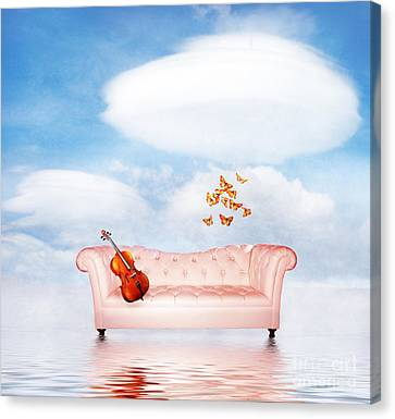 Sometimes...all I Need Canvas Print by Jacky Gerritsen