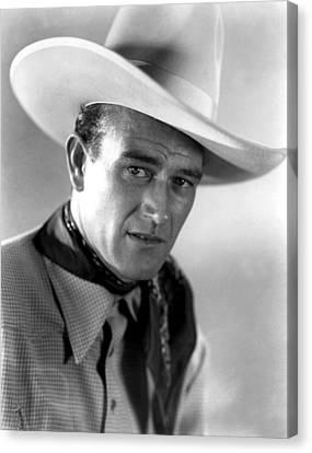 Somewhere In Sonora, John Wayne, 1933 Canvas Print by Everett