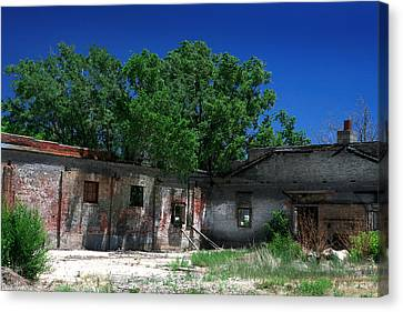 Canvas Print featuring the photograph Somewhere On Hwy 285 Number Three by Lon Casler Bixby