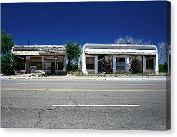 Canvas Print featuring the photograph Somewhere On Hwy 285 Number Two by Lon Casler Bixby