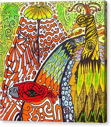 Somewhere Somehow Someone's Dream Canvas Print by Branko Jovanovic