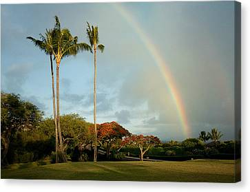 Somewhere Under The Rainbow Canvas Print