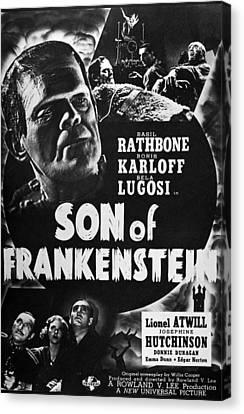 Son Of Frankenstein, 1939 Canvas Print by Granger